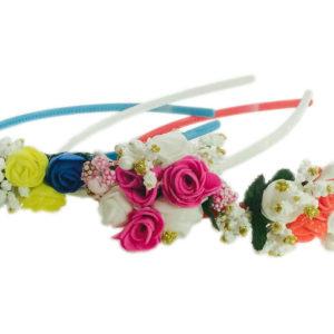 Loops n knots Set of 3 Assorted Tiara/Crown/Hairband For Girls & Women-Hair Accessories