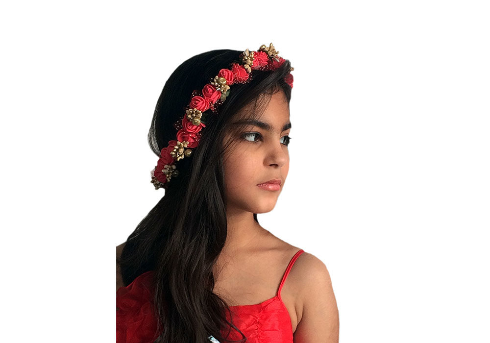 Hair Accessories / Floral Tiara / Crowns