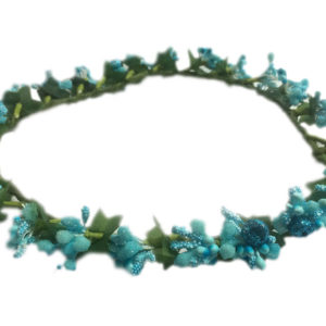 Loops n knots Princess Collection Blue Tiara/Crown/Headband For Girls & Women-Hair Accessories For Birthday ,Party & Wedding