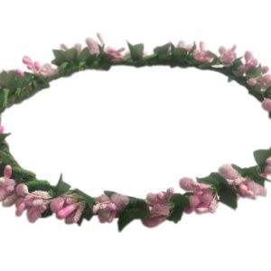 Loops n knots Princess Collection Pink Tiara/Crown/Headband For Girls & Women-Hair Accessories For Birthday ,Party & Wedding